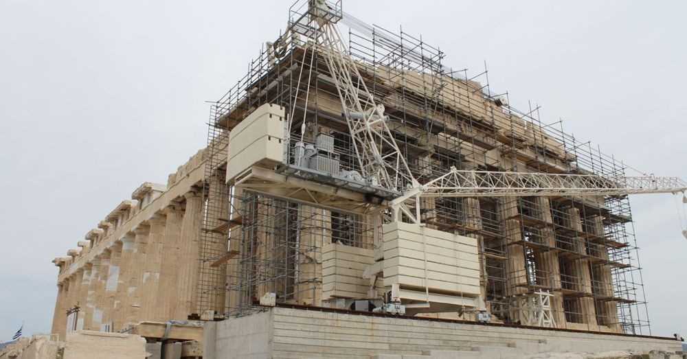Refurbishing the Parthenon