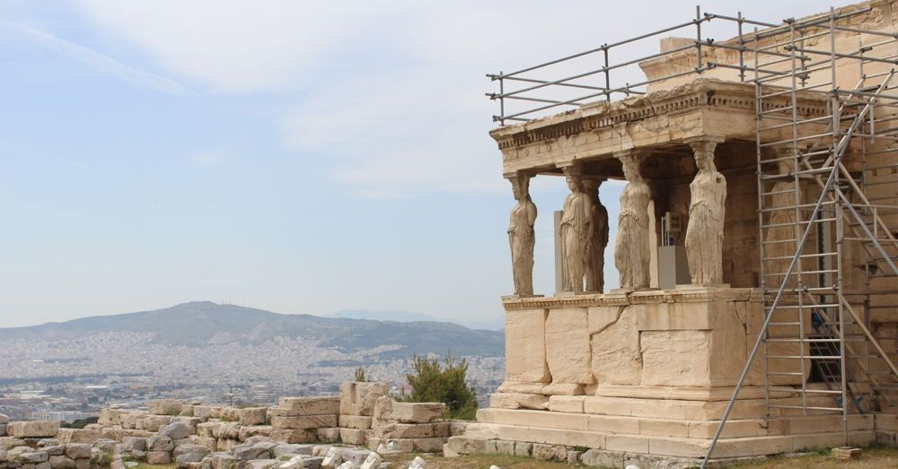 The Caryatids of the Erechtheion