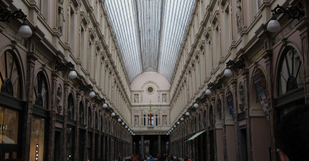 Inside the Théâtre Des Galeries