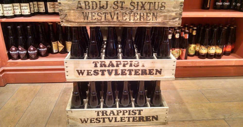 Cases of Westvleteren 12.