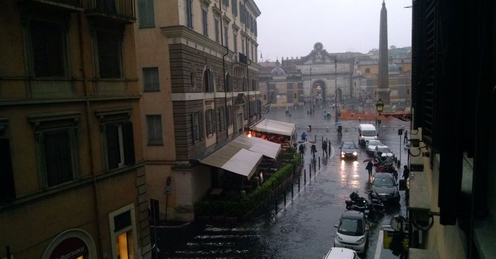 Rainy Day in Rome