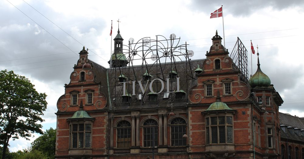 Another side of Tivoli Gardens.