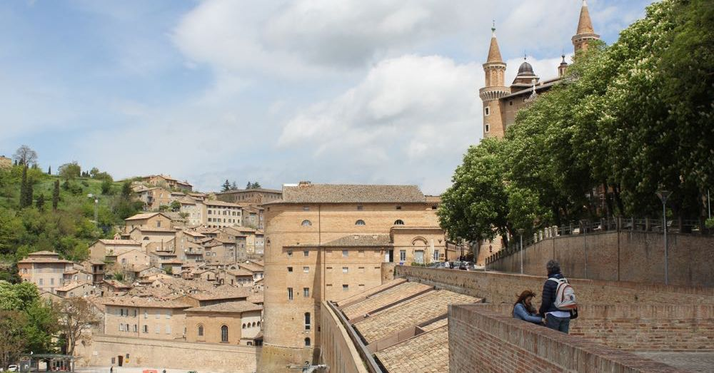 Walled city of Urbino