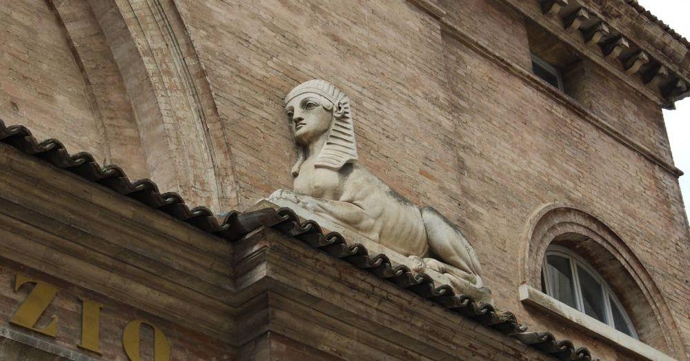 Sphinx in Urbino