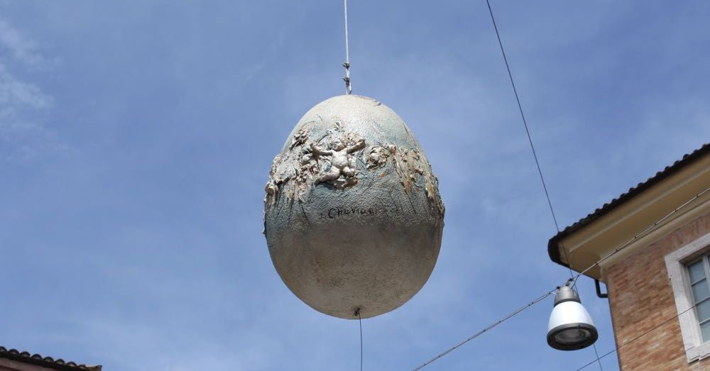Decorative Egg in Urbino