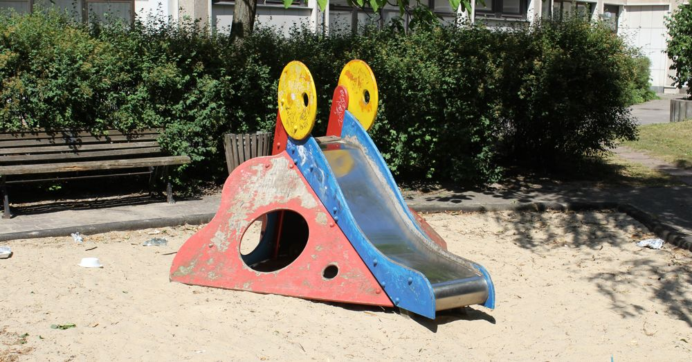 The saddest playground in the world.
