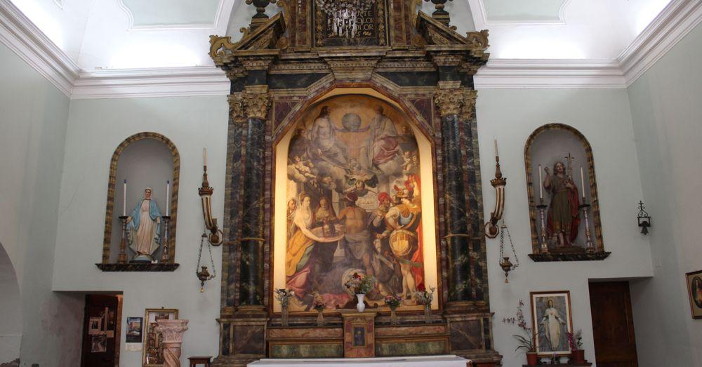 Chiesa dei Morti Altar
