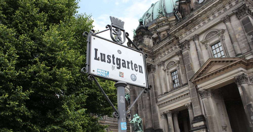 The Lustgarten is not a museum, but it marks the southern end of Museuminsel.