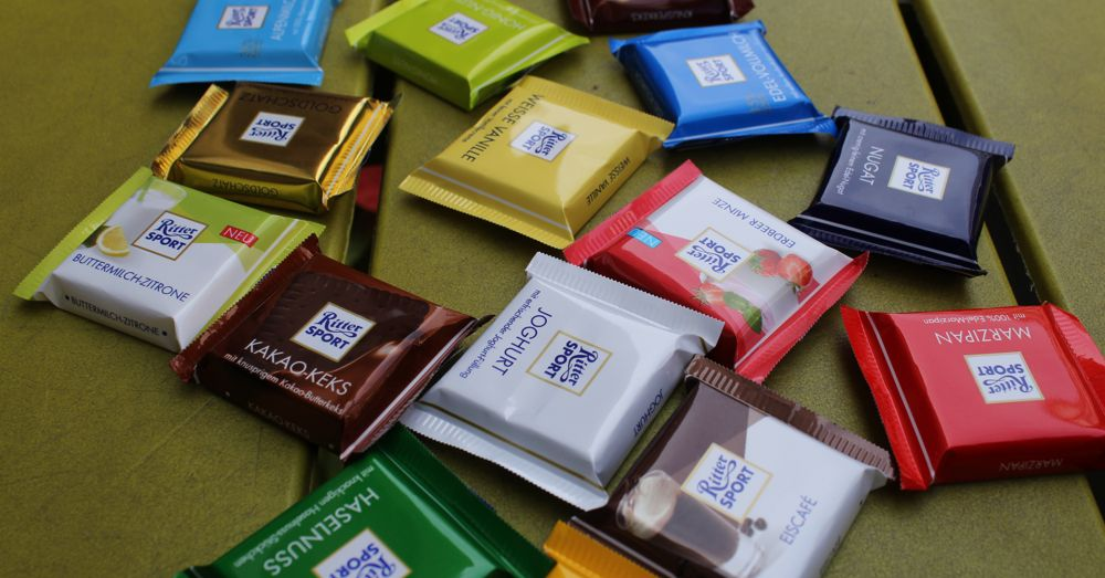 Ritter Sport. So many flavors!