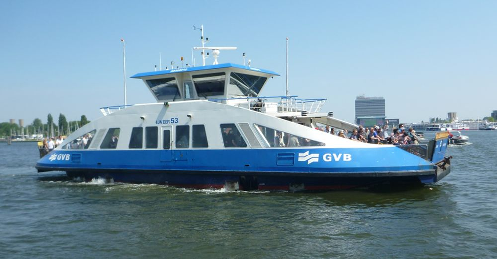 The free ferry.