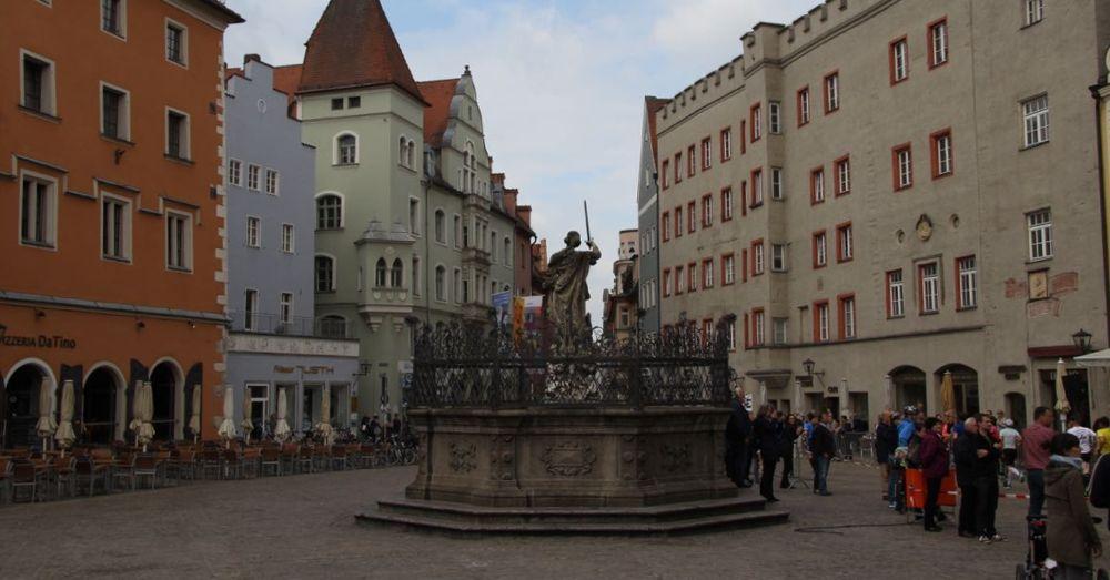 Statue in Regensburg