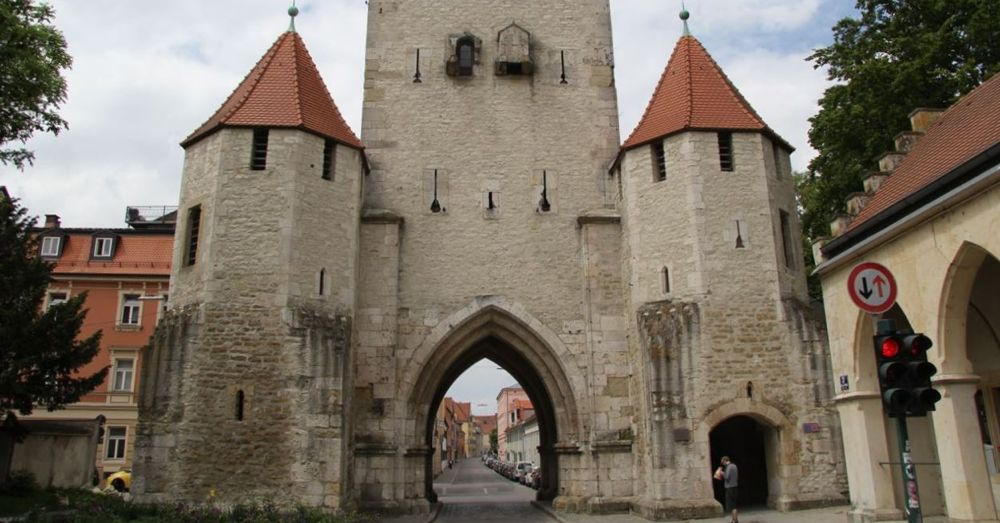 Entrance to Old Regensburg