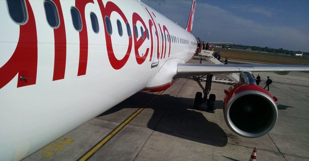 Air Berlin to Copenhagen