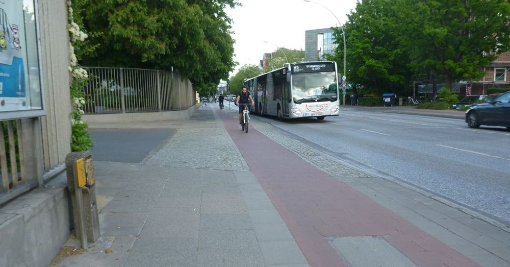 Bike Lanes in Hamburg