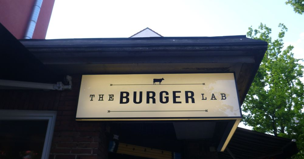 The Burger Lab in Hamburg