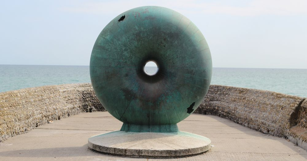 Donut Sculpture of the Earth, Brighton Beach
