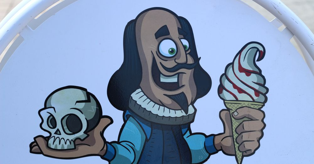 Shakespeare is bet known for his writing, but he also started a frozen custard franchise.