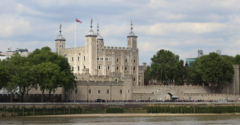 The Tower of London. Not a tower. Not in the City of London.