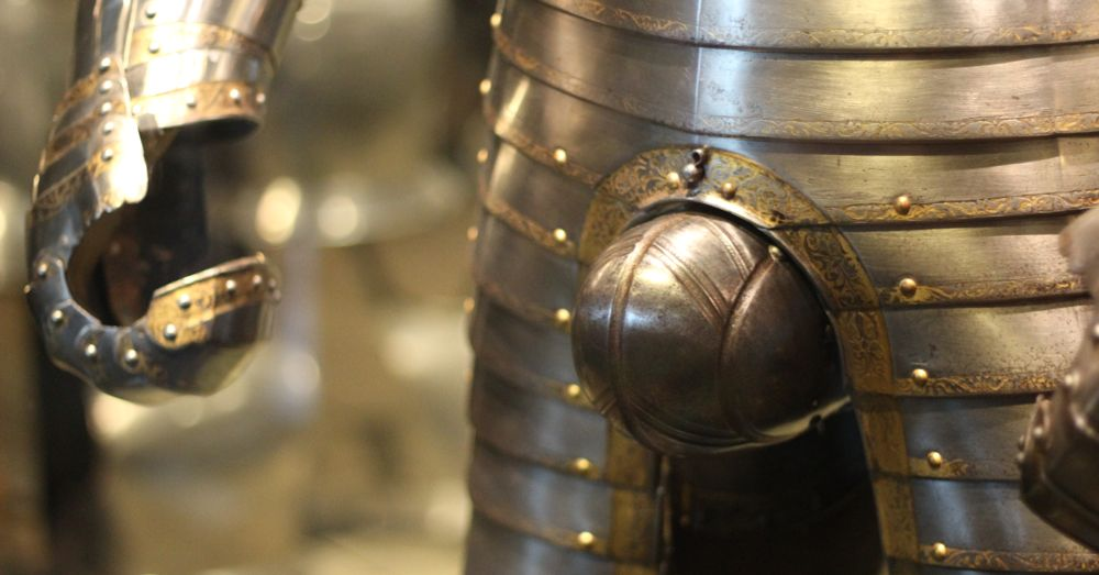The armor of King Henry VIII. No comment.
