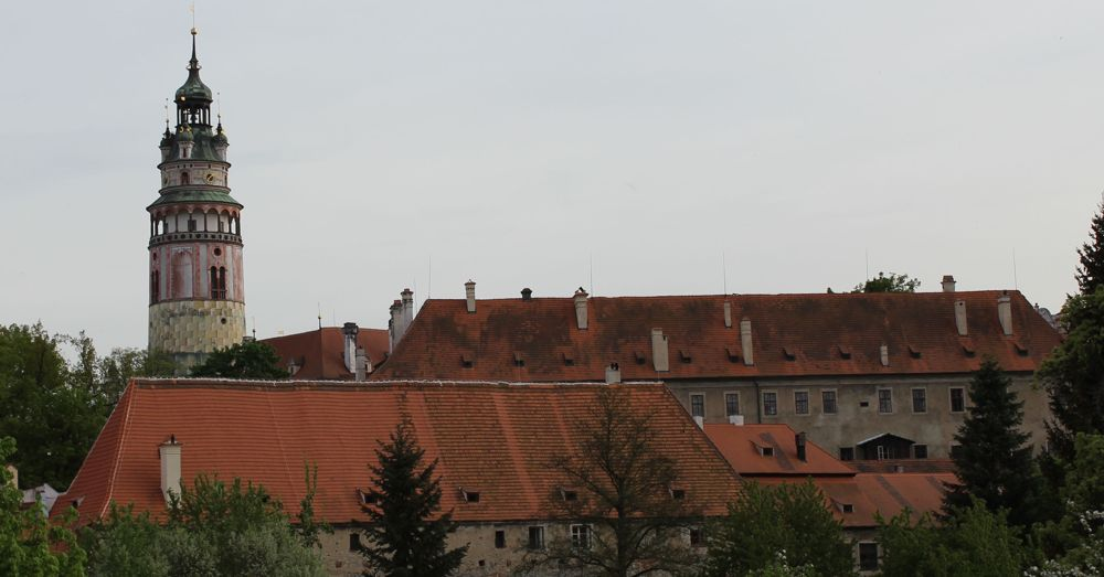 Leaving Český Krumlov