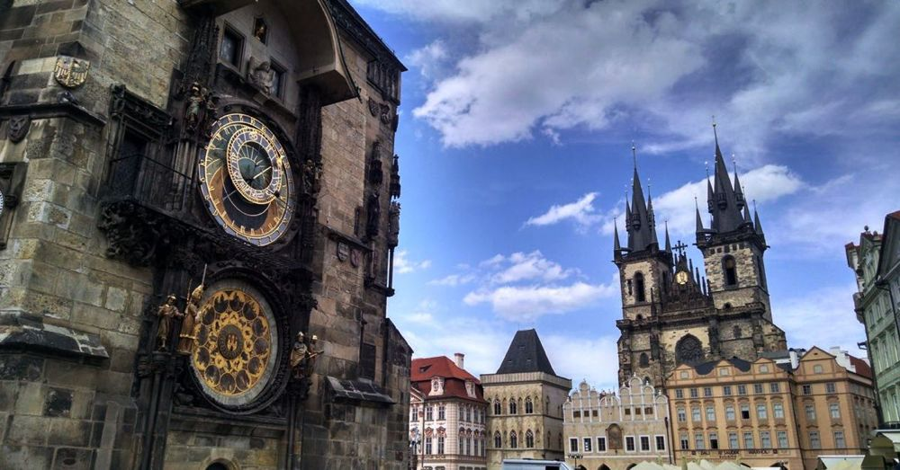 Astronomical Clock and Our Lady Before Týn