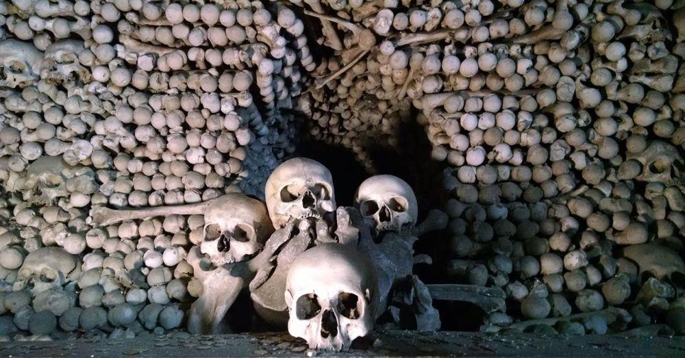 Bones in Sedlec Ossuary