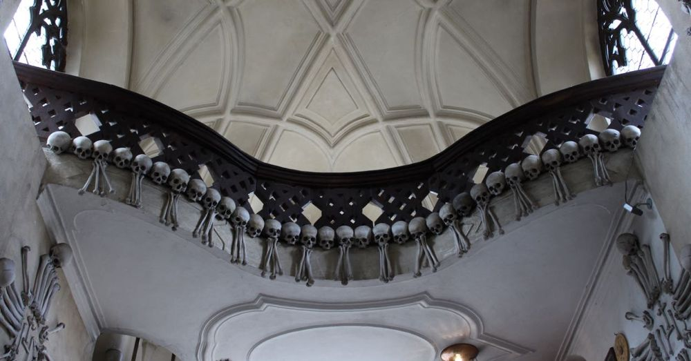 Skeletal Decorations in Sedlec Ossuary