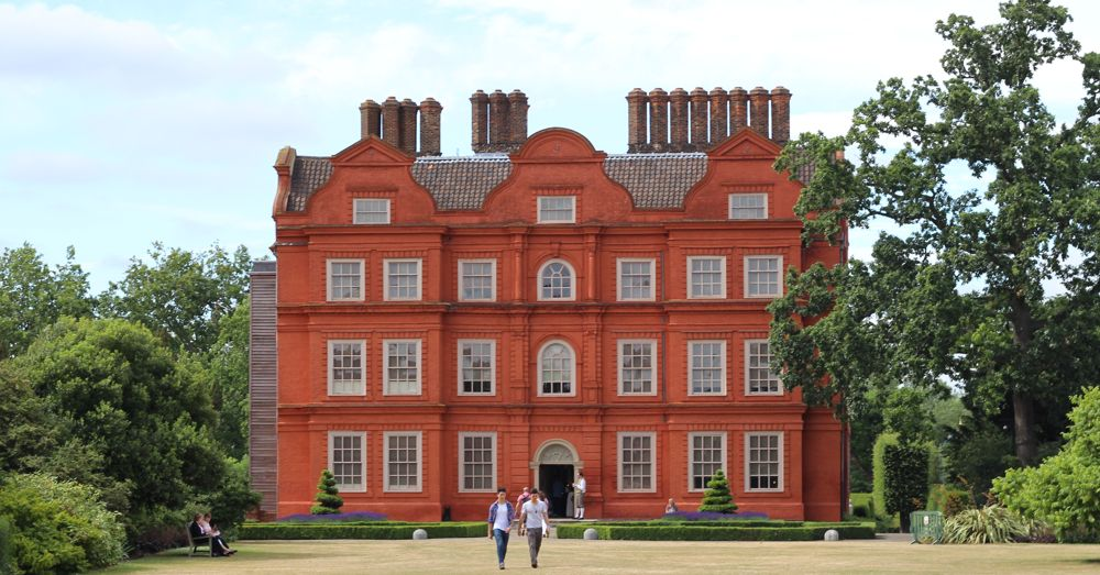 Kew Palace, a peaceful retreat for King George III.