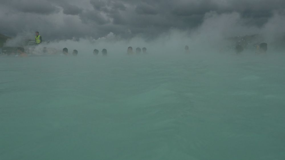 Blue Lagoon can be very steamy.