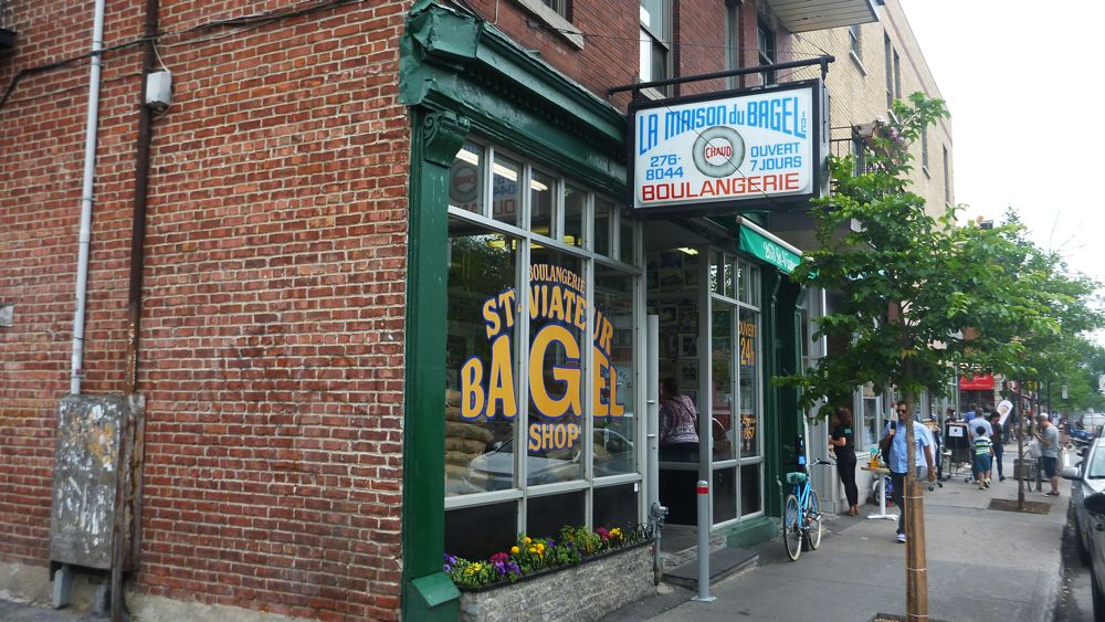 St. Viateur Bagel Shop, a Montreal institution.