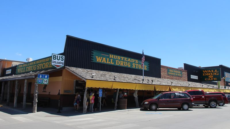 Wall Drug, at last.