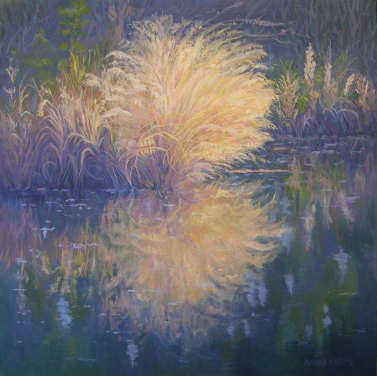 river-grasses-in-moonlight36x36-framed.jpg