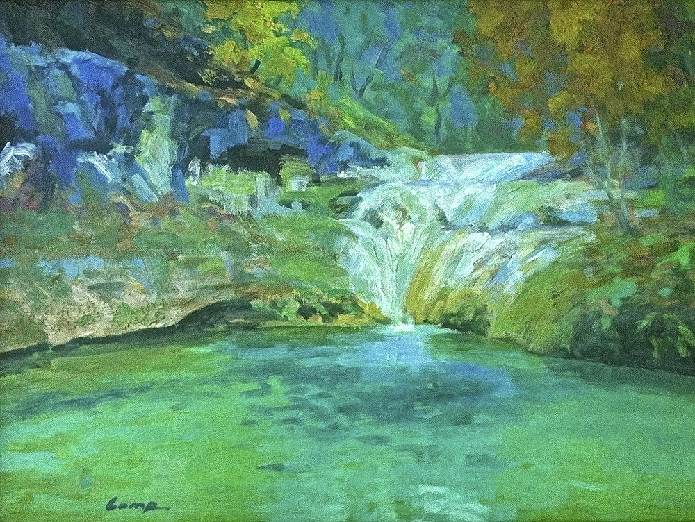 ENCHANTED POOL - SOLD