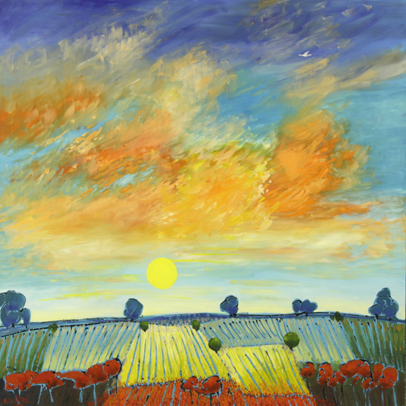 Morning Over the Southern Plains	48x48				$6,915.00