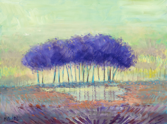 Purple Landscape 2			18x24				$1,500.00