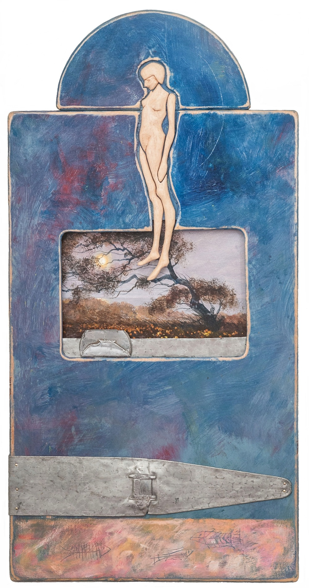 Keen_Billy_L_OLD_GENESIS_31-5x16x2_Acrylic_Mixed_Media_on_WoodLKCROP.jpg