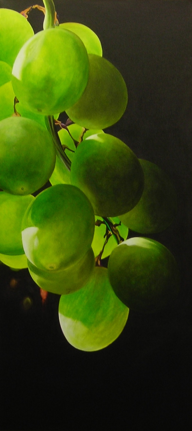 "GRAPES II  35"" x 16""  by Doug Sweet"
