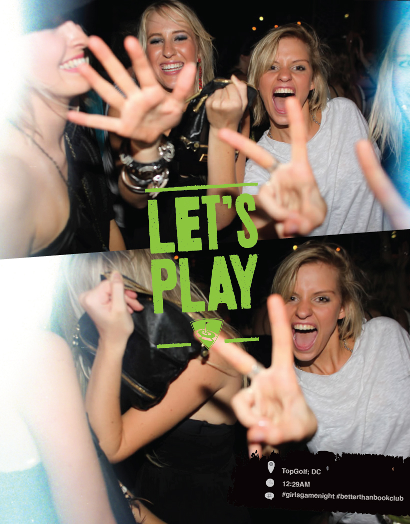 TopGolf Let's Play Spring 2012 Campaign