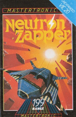 Mark's personal favourite piece of work for the Vic-20 game Neutron Zapper
