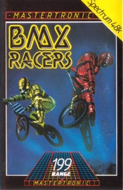 Mark took a break from spacecraft with this cover for BMX Racers