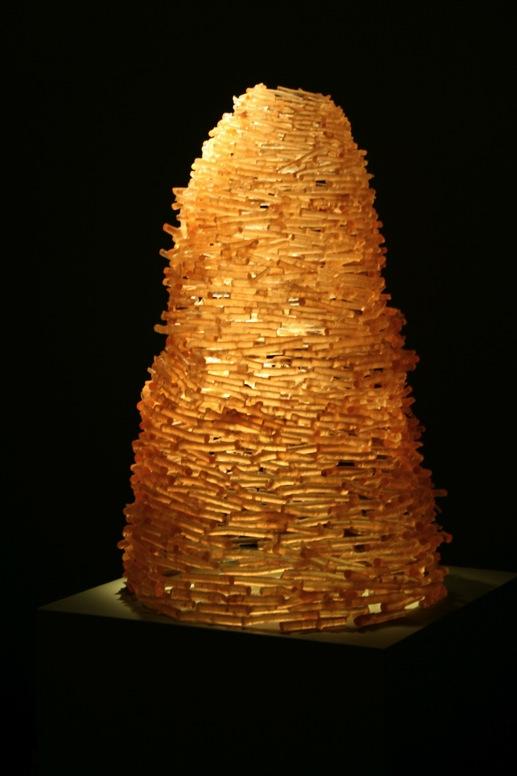 """Golden Pile, 33"""" x 22"""""""