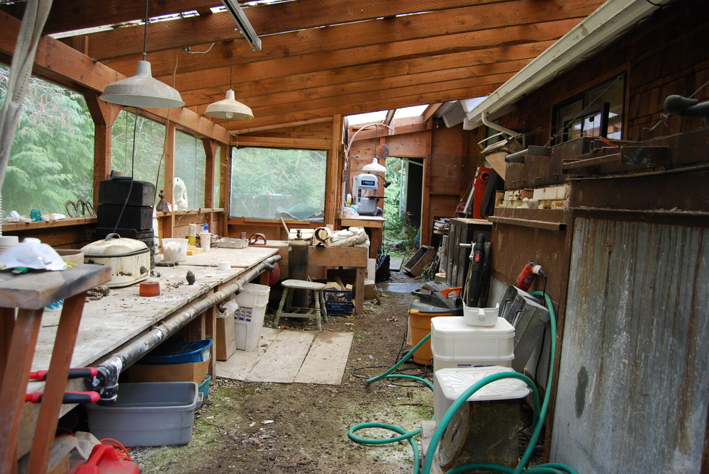 Studio, Vashon Island, Washington State