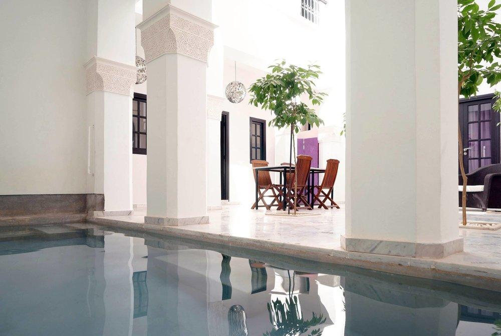 Pool at Riad Sapphire