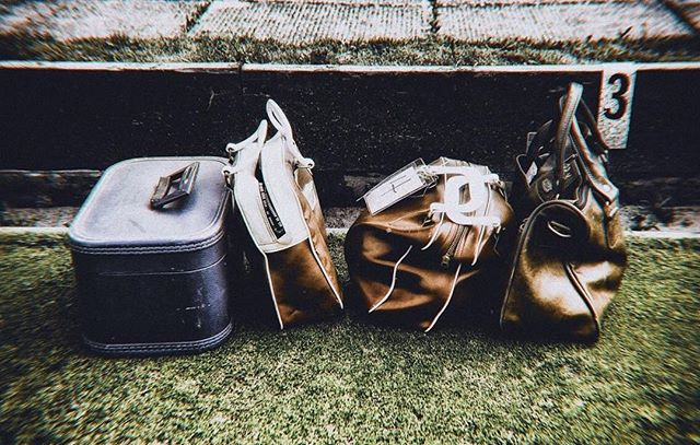 4+3 #meemsphoto #bags #lawnbowling #distortion #retrograde #numbers #packed #80s #70s #styled #grassisgreener