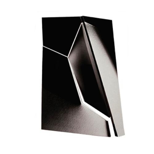 """Black White 1, Front, 40  """"  W x 53  """"  H x 11  """"  D, Photo Construction, C Print, 1982"""