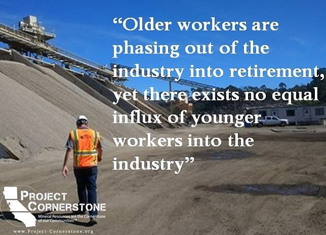 Link in bio!!! ⬆️⬆️⬆️ Check out Project Cornerstone's article highlighting the difficulties of the construction industry facing the labor shortage crisis, and what we can do to encourage the next generation to pursue careers in #construction.  #aggregate #mining #sandiego #careeropportunities #educationmatters #labor #concrete #construcción