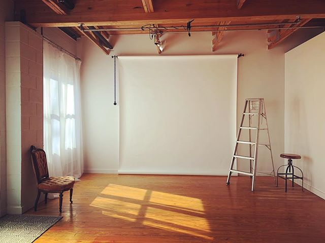 I love the light in the studio in the mornings. #lightfordays #daylightstudio #clt #cltphotographer #ncphotographer #studioenvy