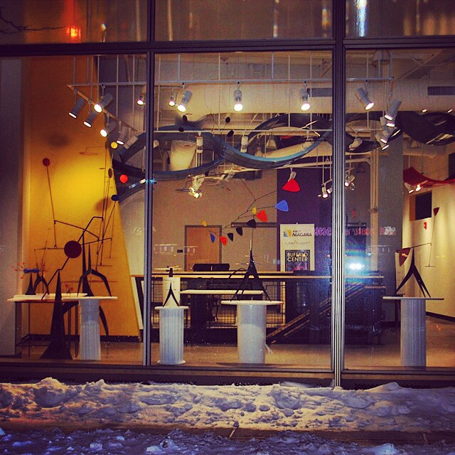 #sculptureinmotion #buffalony show currently up at Buffalo Center for Art and Technology