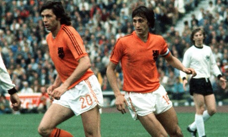 Double Dutch. Cryuff's 1974 glam rock stars left The World Cup empty handed. Will Holland be glad all over this time?