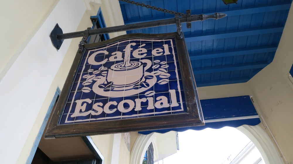 Found the oldest and most delicious coffee spot in Havana.